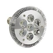 E26/E27 LED Par Lights 7 High Power LED 770LM lm Cool White Dimmable AC 220-240 V