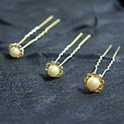 Fashion Shinning Diamond Silver Alloy Hairpins(1 Pc)