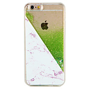 Case  for Apple iPhone 7 7 Plus Tree Glitter Shine Pattern Flowing Liquid Hard  PC  6s Plus 6 plus 6s 6
