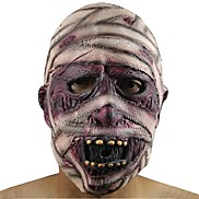 1Pcs Latex Rubber Grimace Monster Mummy Mask For Adults Halloween Party Supplies
