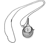 affascinante racchetta da tennis orologio collana