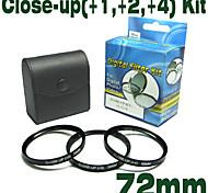 emolux 72mm (+1, +2, +4) Kit close-up-Filter (smq5566)