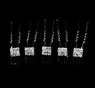 splendidi cristalli da sposa pin / fiori, 5 pezzi