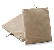 Schutzmaßnahmen weichen Tuch Tasche für ipad 1/2/3/4 und andere (braun)
