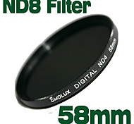 emolux 58mm de densidad neutra ND8 filtro (sqm6011)
