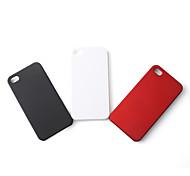 caso de plástico rígido polido para iPhone 4/4S (3-pack)