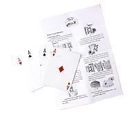 magia reunir cuatro cartas de magia (cambiar todas las cartas para as)