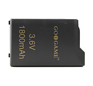 3.6v 1800mAh Battery Pack for PSP (Black)