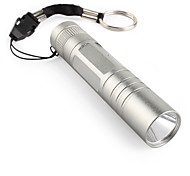 FX HX-G011 Mini LED Flashlight (1xAA/1x14500, Grey)