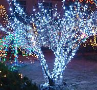 10m 6w 100-led weiß Lichterkette Lampe für Weihnachten Halloween Festival Dekoration (110/220V)