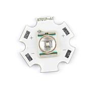 CREE 3W grön LED-spridare 20 mm bas