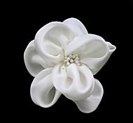 Damen Kopfschmuck Hochzeit/Freizeit/Besondere Anlässe Blumen Satin/Künstliche Perle Hochzeit/Freizeit/Besondere Anlässe