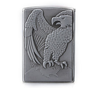 Stylish Silver Cigar Lighter - Eagle