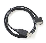 trasmissione dati USB + cavo di ricarica per Dell Streak mini 5 - nero (80cm di lunghezza)