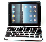 Ultra-Slim Aluminum Wireless Bluetooth QWERTY Keyboard for iPad 2 and The new iPad