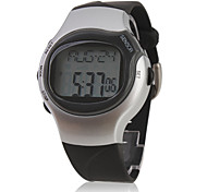 Pulse Heart Rate Monitor Calories Counter Stop Automatic Watch with Alarm