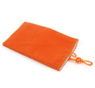Trendy Cell Velvet Bag for iPhone (Orange)