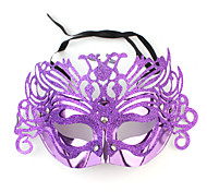 Hot Mardi Gras Dance Masquerade Ball Applique Mask (Random Ship)