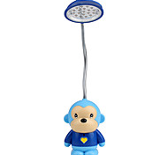 Mini Chimpanzees LED Super Capacity Desk Lamp Blue