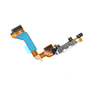 Dock Connector Charger Flex Cable for iPhone 4G - White