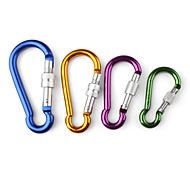 Gourd-Shaped Aluminum Carabiner (Random Color)