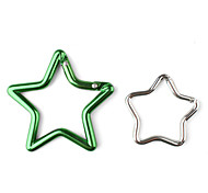Star-Shaped Aluminum Carabiner (Random Color)