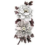 5 Pcs Flower Waterproof Temporary Tattoo(19cm*9cm)