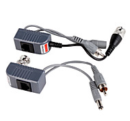 UTP Power Video Audio Balun Transceiver