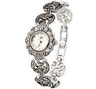 Aphrodite - Silver Sunflower Women Bracelet Watch Cool Watches Unique Watches