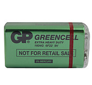Super Power 1604G 6F22 9V Heavy Duty Battery - Green