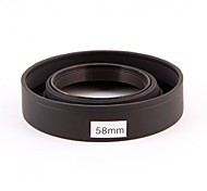 Camera Lens Hood (rubber) 58mm