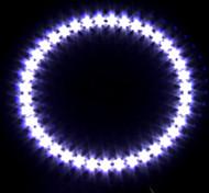 farol do carro / luz decorativa (anjo de luz nos olhos, levou 39, 12cm, branco)