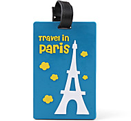 Travel Tag - Travel In Paris (Blue and Pink Assorted