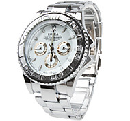 Men's Watch Dress Watch Fashionable Alloy Band Cool Watch Unique Watch
