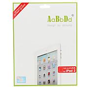 hohe Transparenz Displayschutzfolie mit Reinigungstuch für Apple iPad 2 und das neue iPad