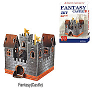 Single Tower Castle 3D DIY Puzzle
