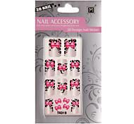 6 In 1 Fashion Nail Decals/Nail Stickers
