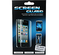 Diamond Mirror Screen Protector With Cleaning Cloth for Samsung i9220