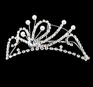 Copricapo Donne/Bambina Tiare Matrimonio/Occasioni speciali Lega/Perle false Matrimonio/Occasioni speciali