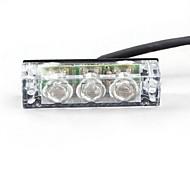 4x3 LED Flashing Light Panels (White)