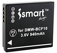 Ismart Camera Battery for Panasonic DMW-CP8, DMC-FP8, DMC-FC25 and More