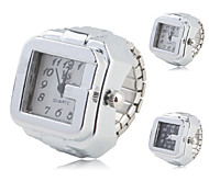 Unisex Alloy Analog Ring Watch (Assorted Colors) Cool Watches Unique Watches