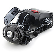 LED Flashlights/Torch / Headlamps LED 1 Mode 150 Lumens Tactical Cree XR-E Q5 14500 / AA Others , Black Plastic