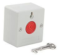 botão de pânico com fio de emergência