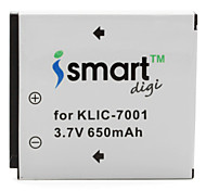 Ismart Digital Camera Battery for Kodak EasyShare M753 Zoom, M893 IS and More