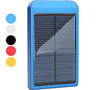 Solar Powered and AC Charger for iPhone, iPod, Samsung Blackberry HTC Smartphones (Assorted Colors, 2600mAh)