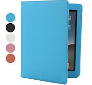 fils croisés conçus étui en cuir PU pour iPad 2/3/4 (couleurs assorties)