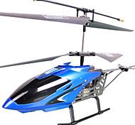 3.5-kanaals flexibele rc helicopter met ingebouwde gyroscoop (blauw)