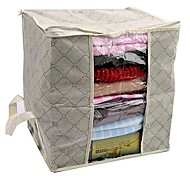 Visible Khaki Clothes Storage Bag