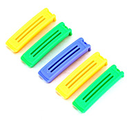 clips sellados bolsa de comida (6 piezas)